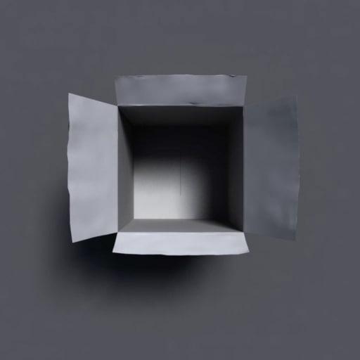 3d obj box ribbon