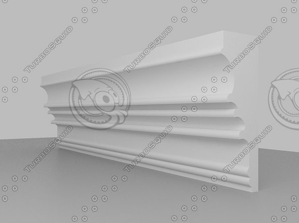 ceiling coving 3d 3ds