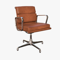 realistic eames soft pad 3d model