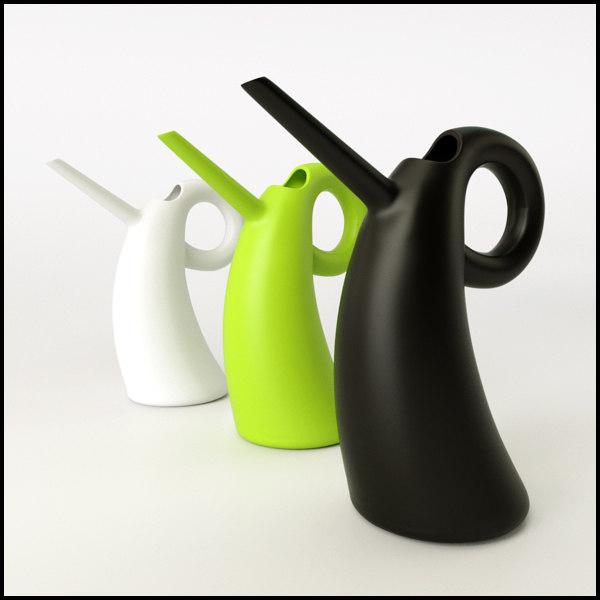 diva watering alessi 3d model