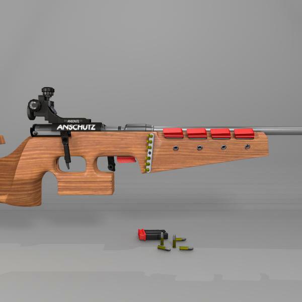 3d models>weapons>gun>sport>equipment>rifle>outdoor> 3d model