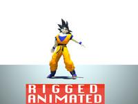 Goku Rigged and Animated