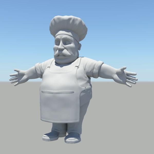 3d short baker
