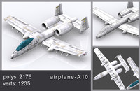 airplane air plane 3d max