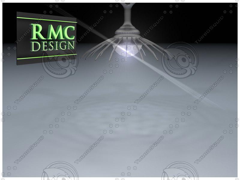 chandelier 27 rmc 3d model