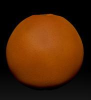 orange obj