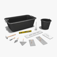 Set of Masonry Tools
