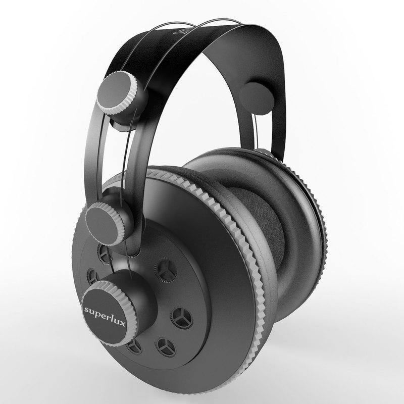 headphones superlux 3d max