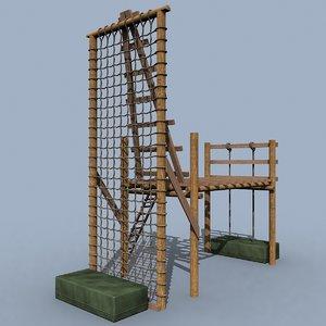 tough obstacle 3d obj