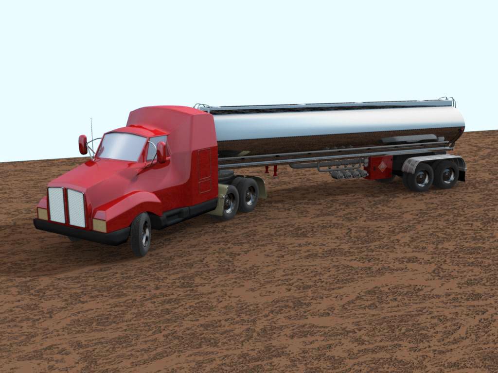 big rig tanker truck ma