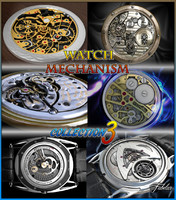 watch mechanisms 3d max