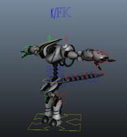 Xenos Robot Rig