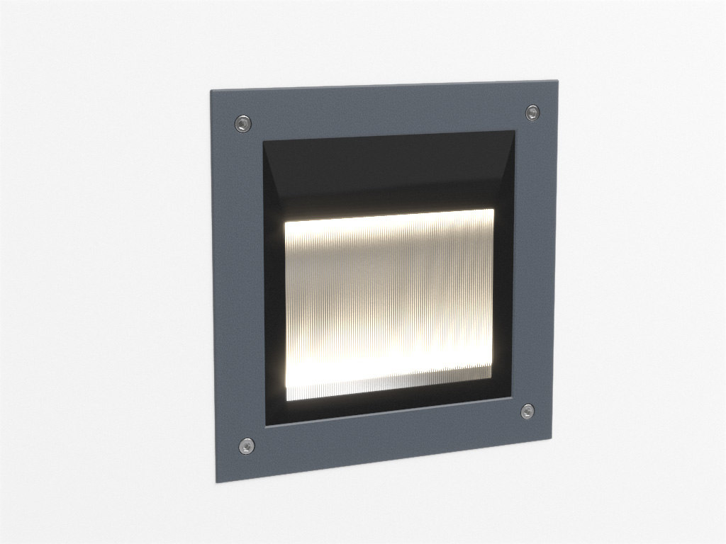 3ds max erco lightmark floor washlight