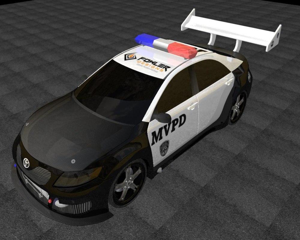 camry 3d model