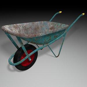 wheelbarrow barrow fbx