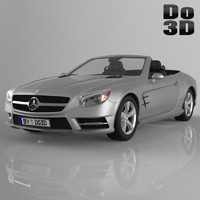 3d mercedes benz sl