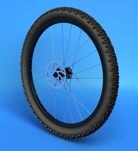 3d bicycle tire