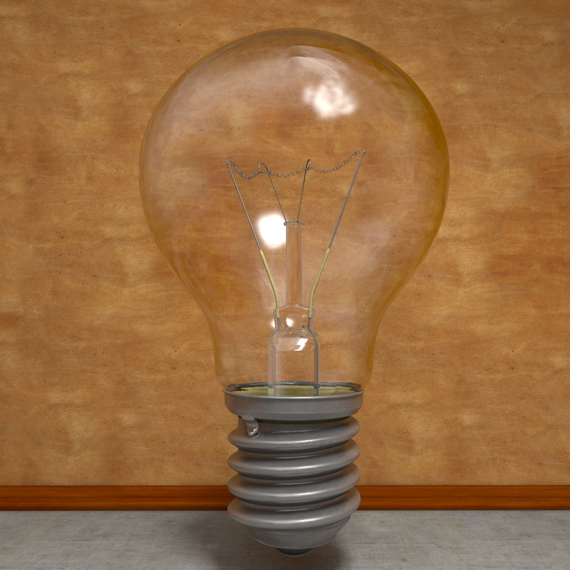 light bulb c4d