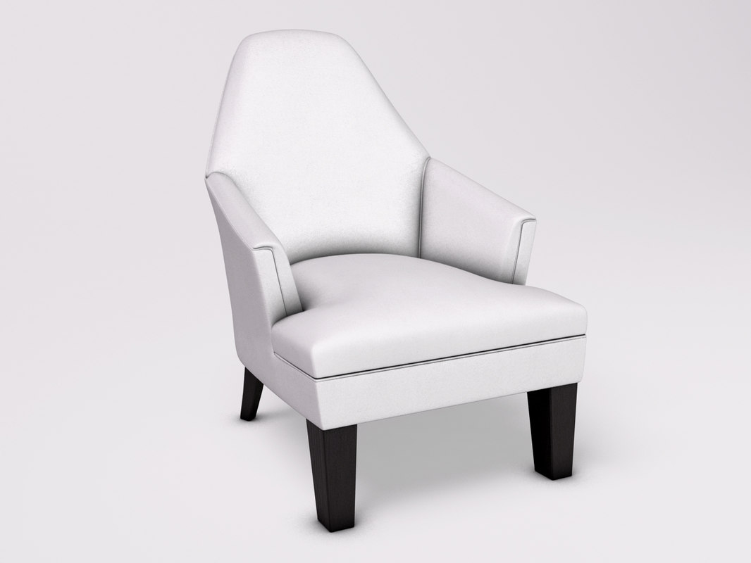 3d model chair armchair wychwood
