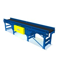 horizontal belt gapping conveyor 3d model