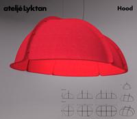 3d model atelje lyktan shades