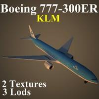 B77W KLM