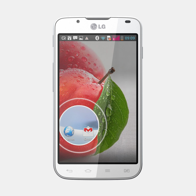 3d lg optimus l7 ii model