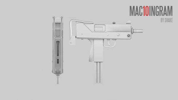 3d model weapon games