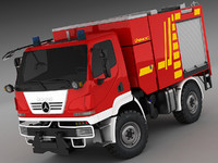 Mercedes Unimog U20 Fire Engine