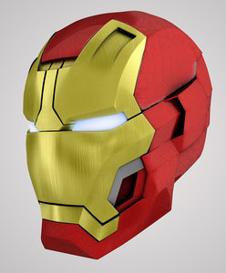 iron man 3 mark obj