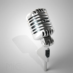 3ds microphone shure 55sh