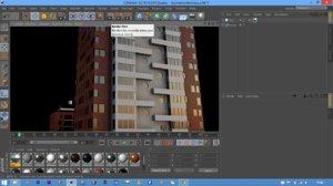 3d model of montevideo building