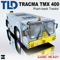 3ds max tracma tmx 400 push-back