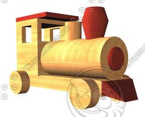 toy train obj
