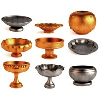 antique bowls 3d model
