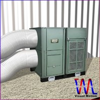 industrial unit hvac 3d model