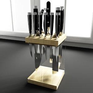 3d kitchen decoration model