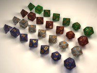 Full Gaming Dice Set