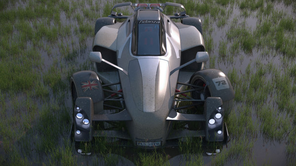 free car sports 3d model