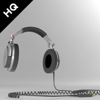 3d model headphones sony