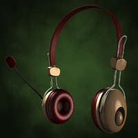 3ds max headset