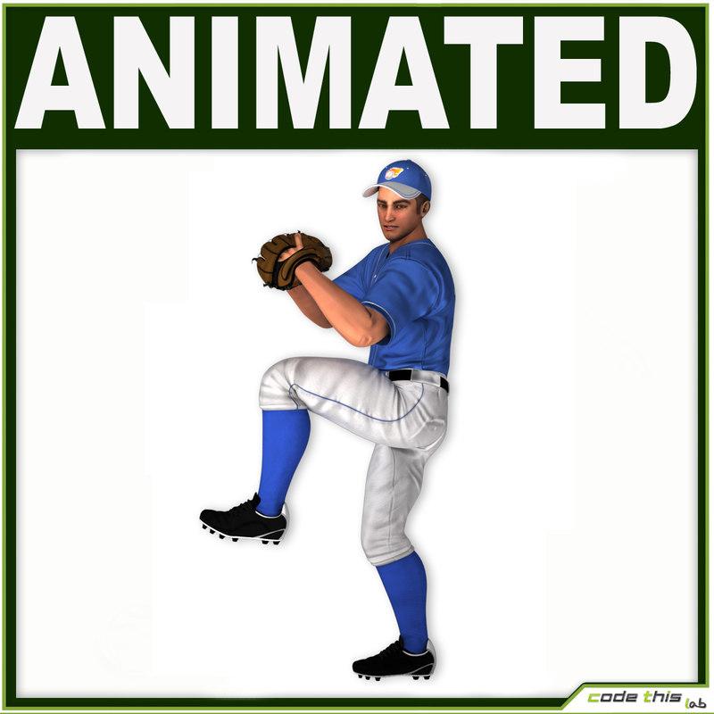 hat baseball player cg max