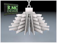 3d model chandelier rmc
