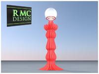 3d model chandelier 13 rmc