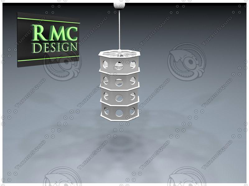 3d model of chandelier 23 rmc