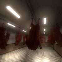 meat warehouse 3d model