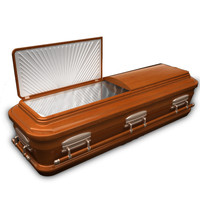 High Def Classic Coffin Wood Modern