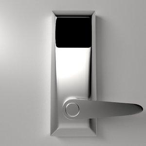 3d x keycard rfid sensor lock