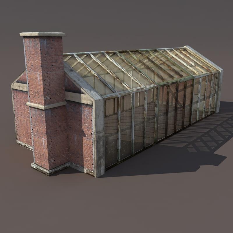 3d skylight modelled model