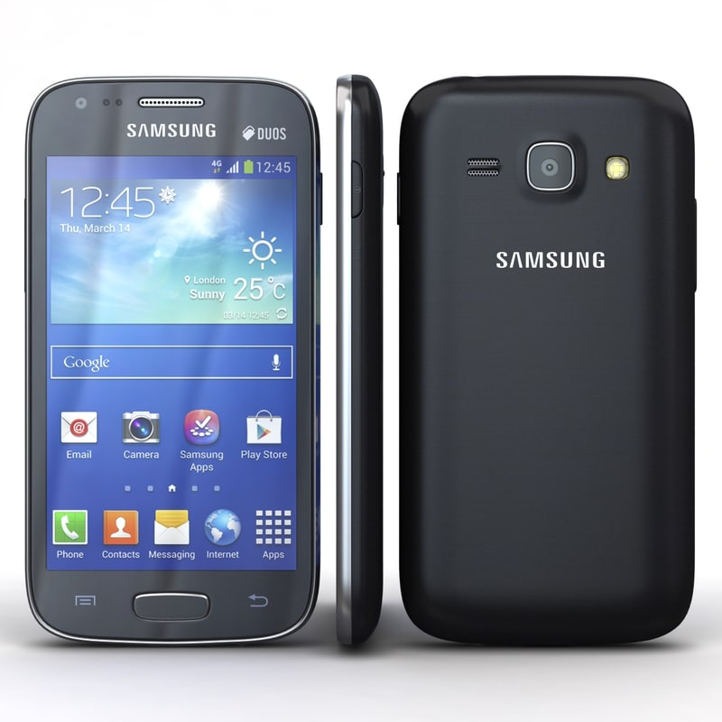 samsung galaxy ace 3 3d model